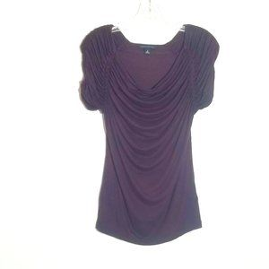 Women's Banana Republic Crepe Ruffle Top - Med